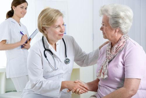 Elder Doctor's Visit