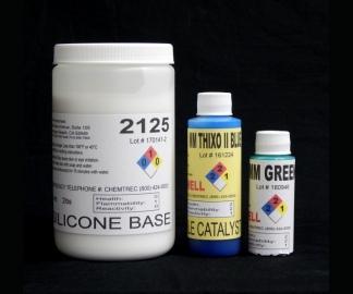 2125 Base w/brushable MM Thixo II Blue Cat & MM Green Cat for PRINT COAT