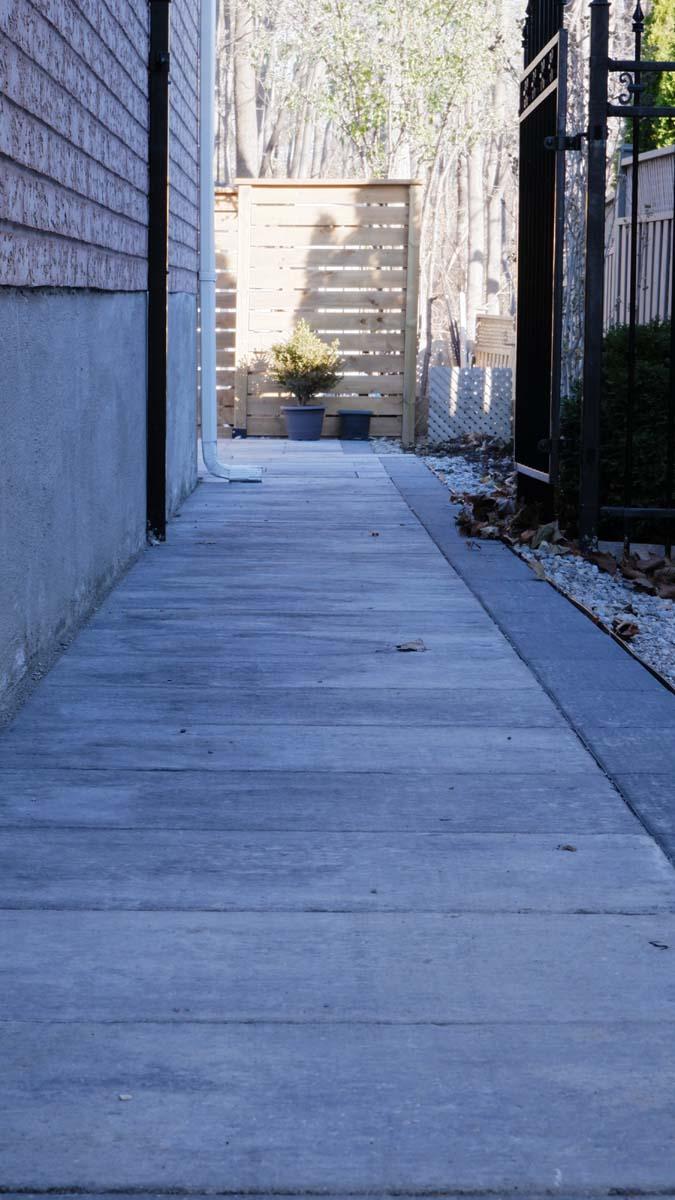 Backyards & Walkways