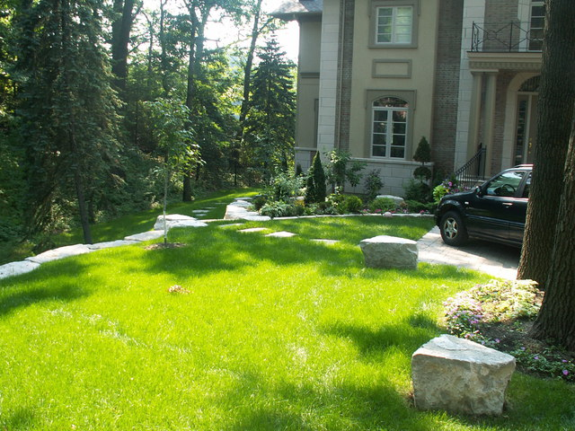 Retaining Walls & Landscaping