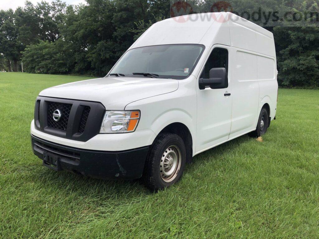 2017 Nissan NV 2500 Van Conversion