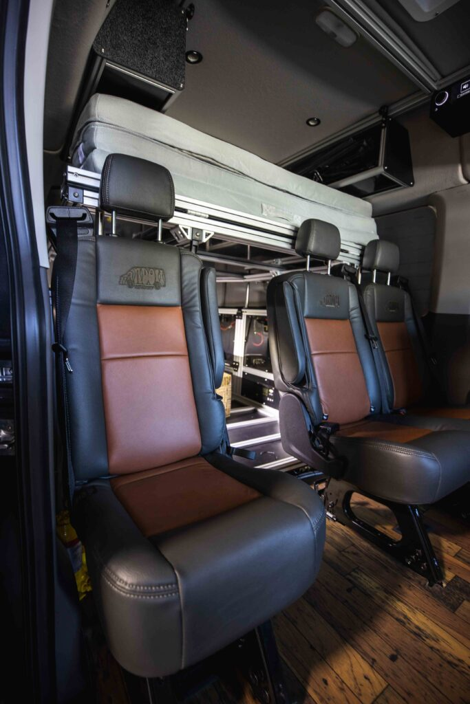 Removable Leather Seating
