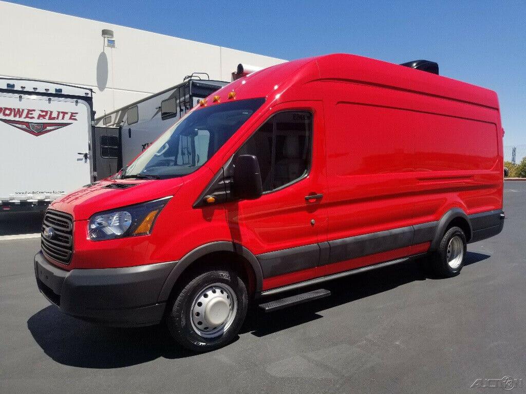 2017 Ford Transit Van Conversion