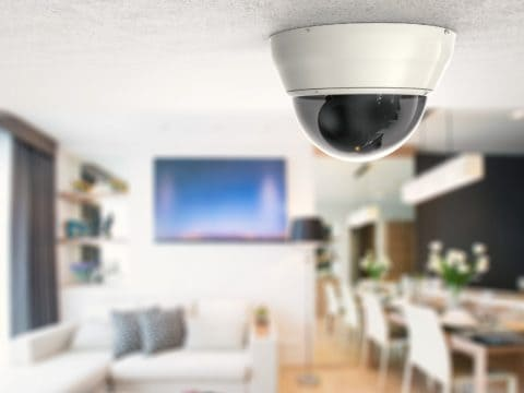 Security Camera in a Business