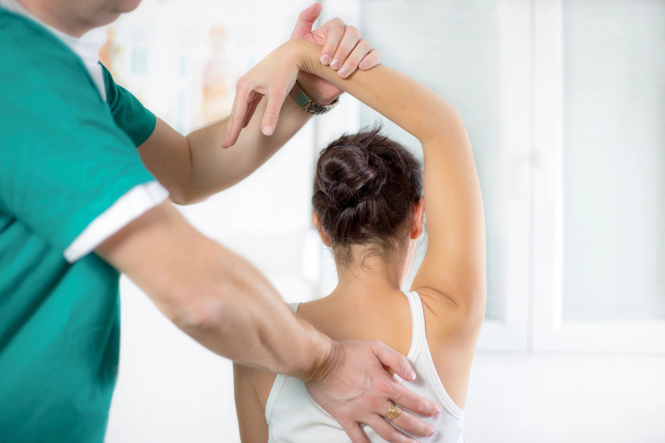 Physical Therapy Shoulder Evaluation Image