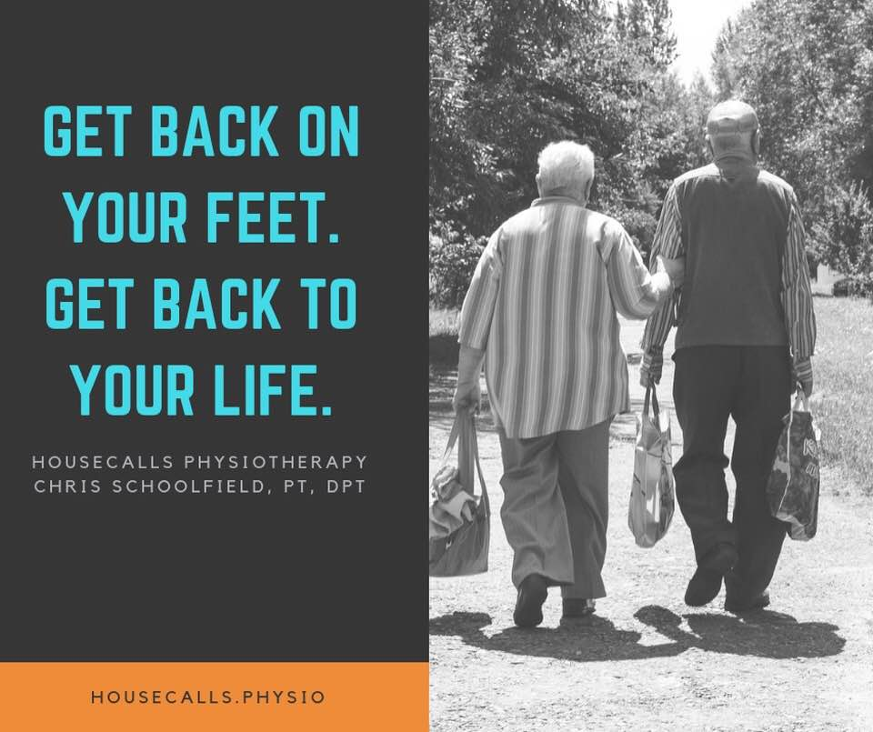 HouseCalls Physiotherapy, Jonesboro, Arkansas. Intensive in-home physical therapy.