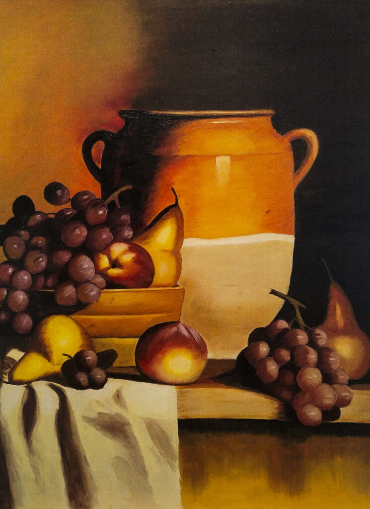 Nancy Zhang Oil painting