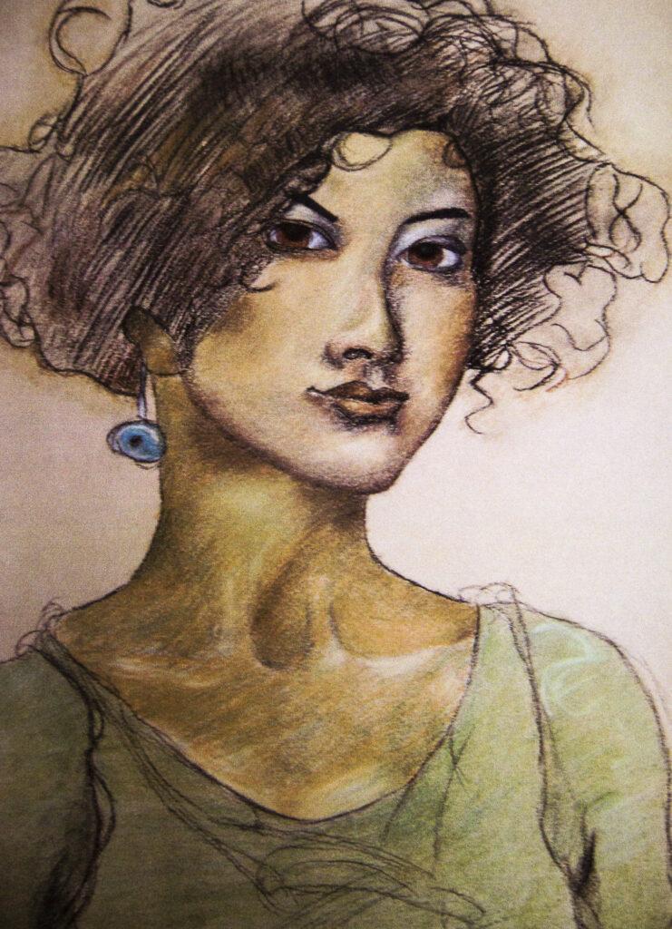David Ye, 12-year-old Pastel drawing