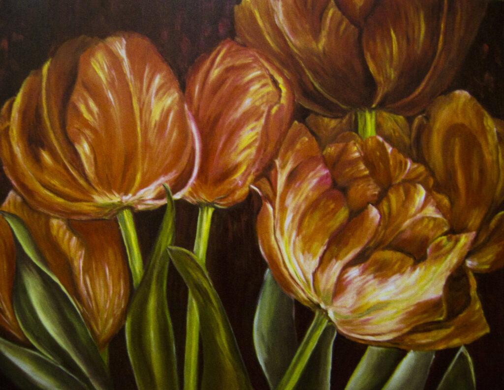 Rita Lam Oil painting