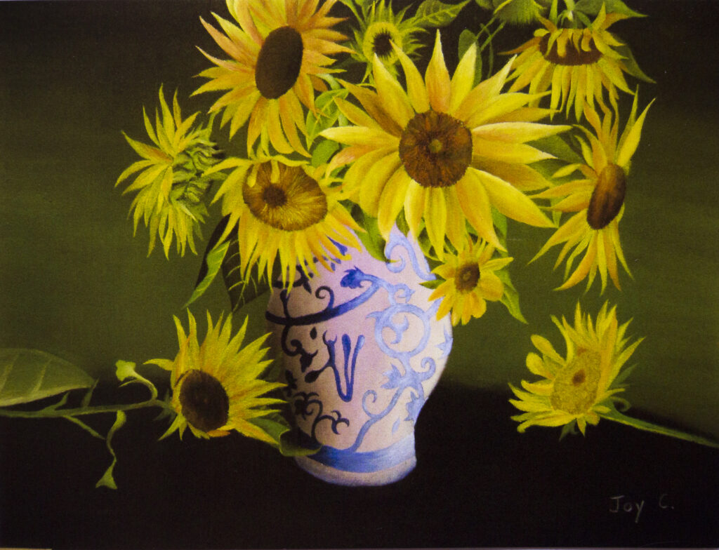 Joy Cheng, 15-year-old Oil painting