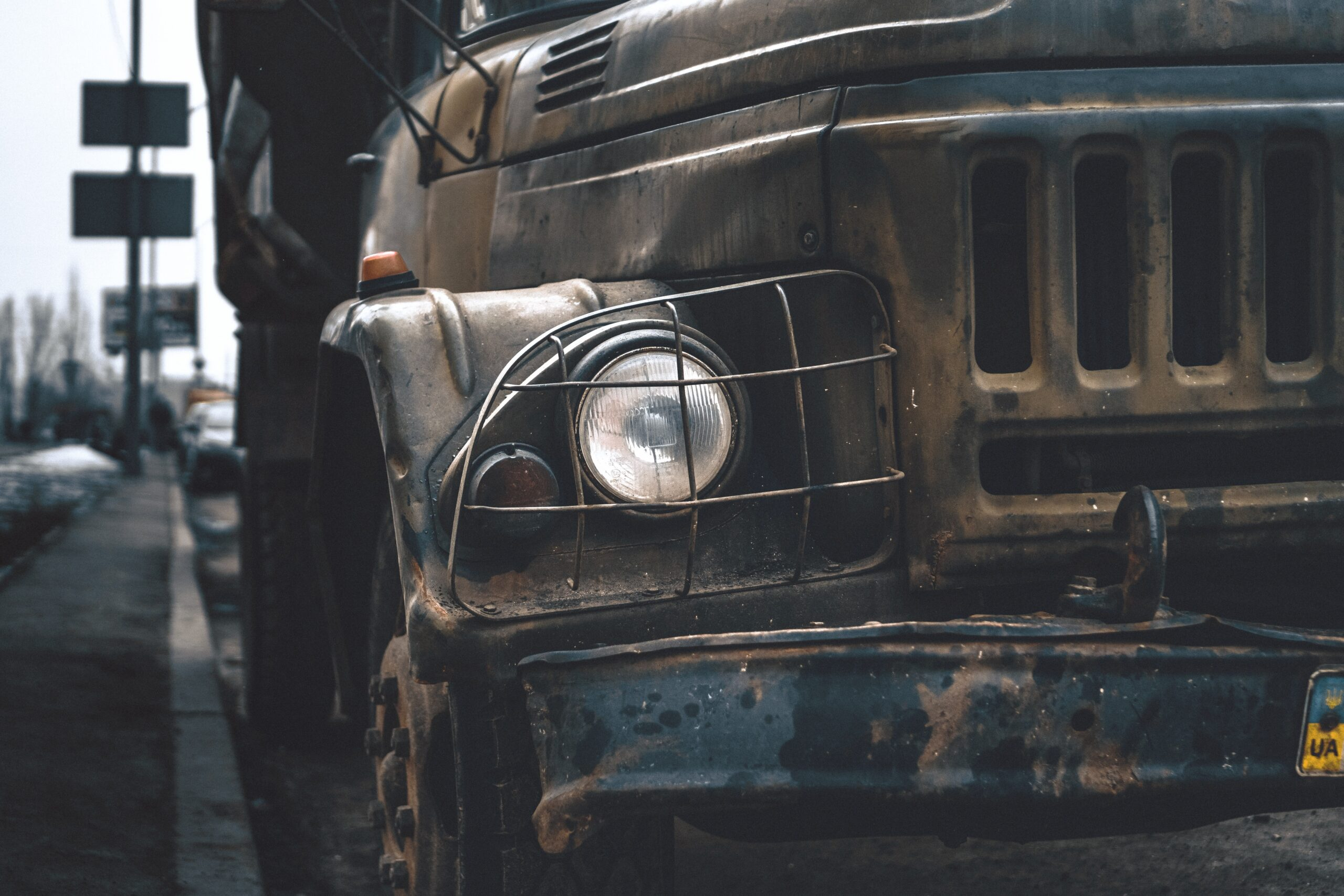 junked truck