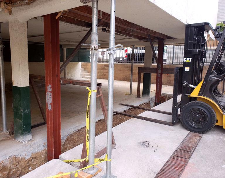Business Building Seismic Retrofit