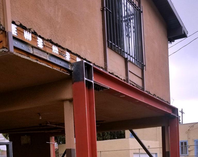 Apartment Building Seismic Retrofit