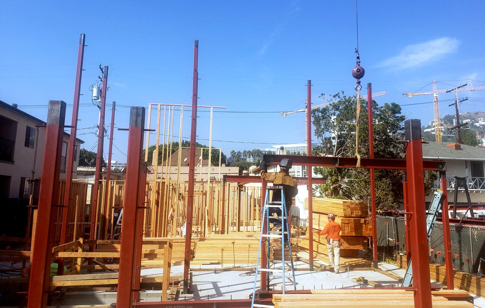 Azi Steel - Construction Site