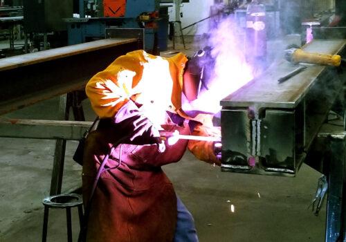 Azi Steel Worker Welding