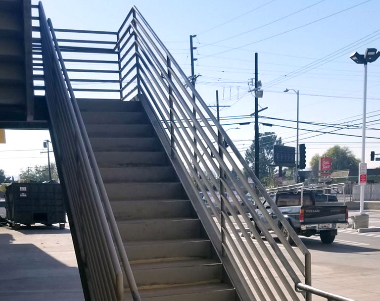 Business Steel Stairs