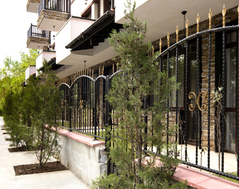 Business Wrought Iron Fence