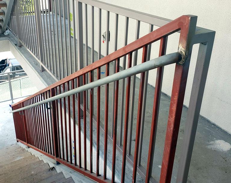 Business Steel Handrail