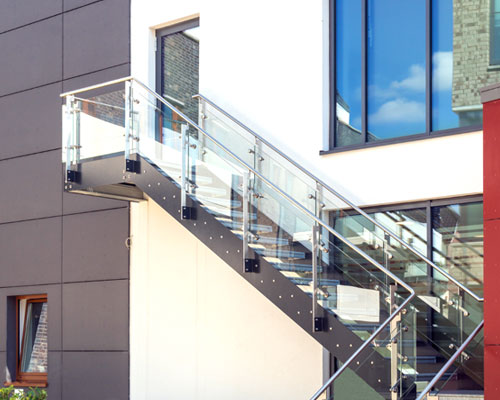 Commercial Steel Stairs