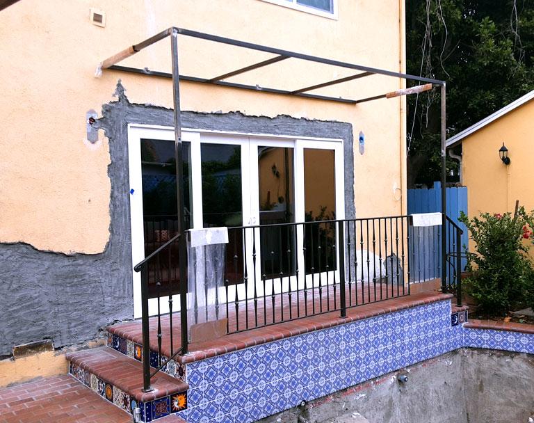 Miscellaneous Steel Front Door Rail