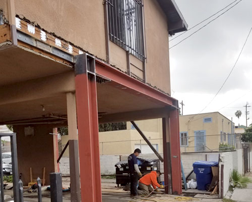 Seismic Retrofit on apartment building