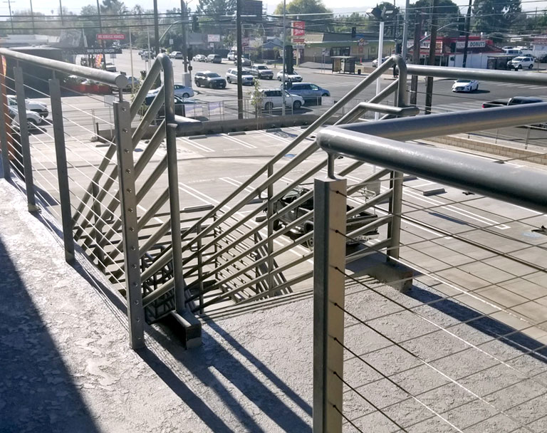Stainless Steel Cable Railing in Business