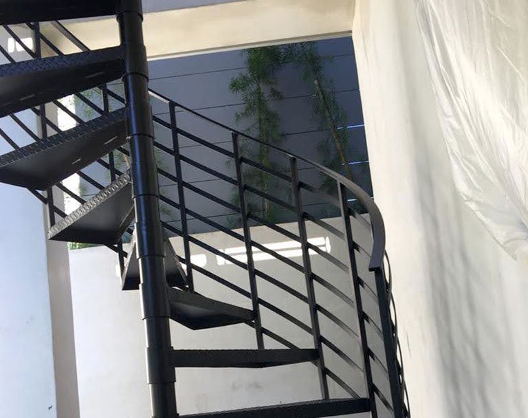 Steel Stairs and Rails for Business