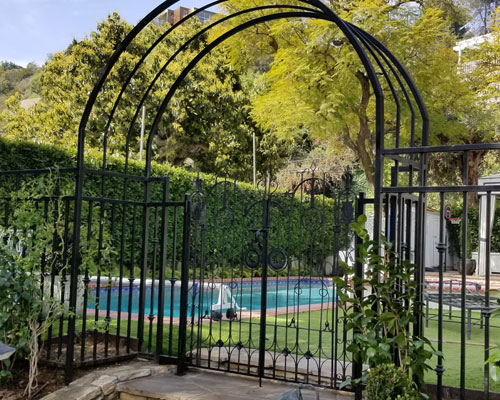Wrought Iron Fences by Azi Steel