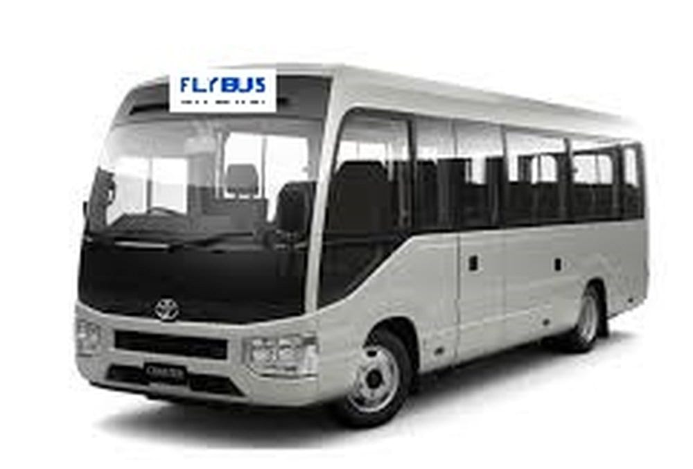 crown melbourne airport transfer fleet 24 seater bus