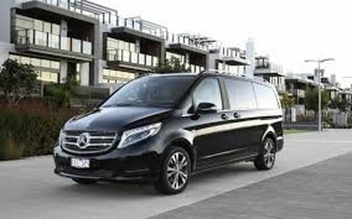 melbourne airport transfers fleet mercedes-benz v-class 7 seater