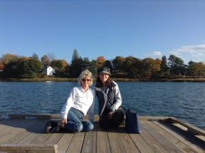 Hope & Esther_Dock at Damariscotta_10-17-14