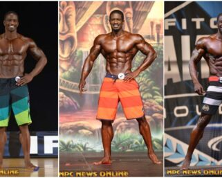 NPC/IFBB Pro League Transformation: Men's Physique Competitor George Brown