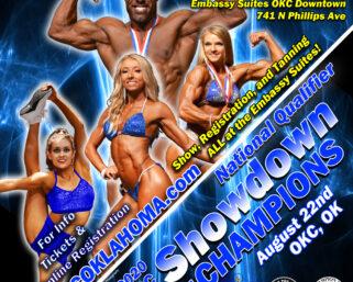 CONTEST SPOTLIGHT: NPC Showdown of Champions on August 22nd in Oklahoma City!