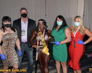 Around the NPC: 2020 IFBB Tampa Pro Friday Candid Photos by J.M. Manion