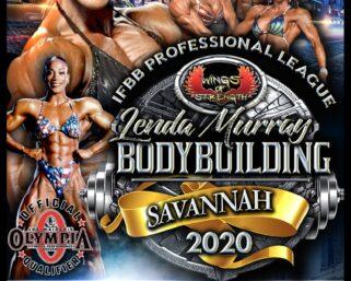 CONTEST SPOTLIGHT: 2020 IFBB PROFESSIONAL LEAGUE LENDA MURRAY SAVANNAH