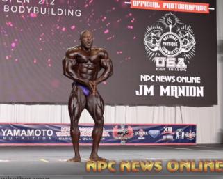 2020 IFBB Pro League Tampa Pro 212 Bodybuilding Winner George Peterson Posing Routine.