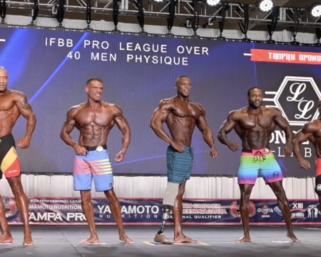 2020 IFBB Pro League  Tampa Pro Masters Men's Physique Prejudging Video