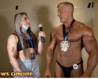 2020 NPC Central USA Men's Bodybuilding Winner Austin Williams After Contest Interview