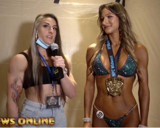 2020 NPC Midwest Naturals Bikini Overall Winner Rachel Parrott After Show Interview