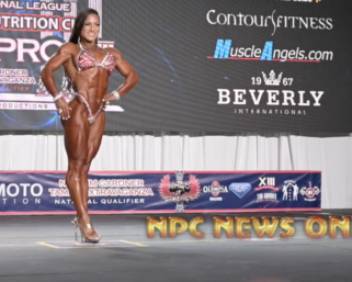 2020 IFBB TAMPA PRO FITNESS PREJUDGING INDIVIDUAL ROUTINES