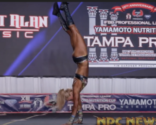 Fitness Routine Video: Terra Plum From the 2020 IFBB Pro League Tampa Pro