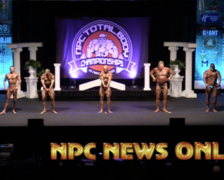 2020 NPC TOTAL BODY CHAMPIONSHIPS BODYBUILDING OVERALL