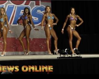 2020 NPC Southwest USA Championships Bikini Overall Winner Ashley Holland Video