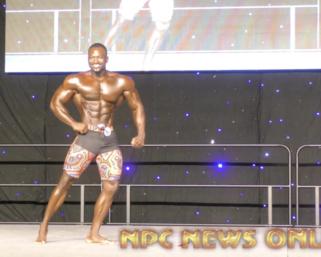 2020 IFBB Pro League SouthEast Texas Men's Physique 2nd Place Winner Rashaud Watson Posing Routine