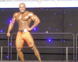 2020 IFBB Pro League Southeast Texas Men's Physique 4th Place Winner Anthony Gilkes Posing Routine