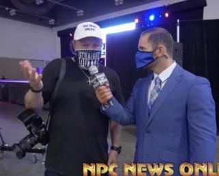 2020 NPC/ IFBB Pro League  Southeast Texas Championships J.M. Manion Interview
