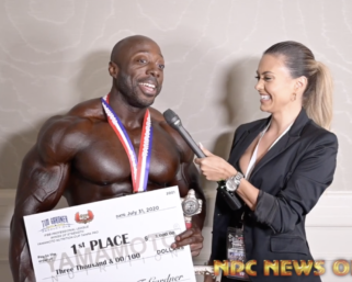 2020 IFBB Pro League Tampa Pro 212 Bodybuilding Winner George Peterson After Show Interview
