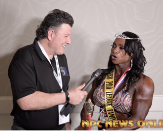 2020 IFBB Pro League Tampa Pro Women's Bodybuilding Winner Ladawn McDay After Show Interview