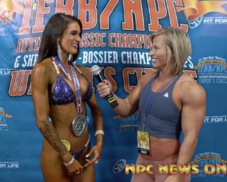 2020 IFBB Pro League Optimum Classic Interviews: Bikini 4th Place Skylar Lanier