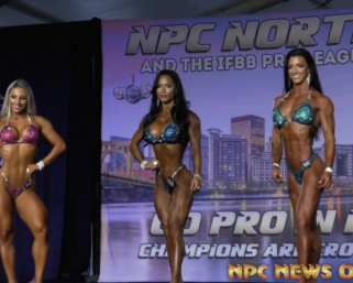 Watch the 2020 #NPCNorthAmerican Wellness Overall Comparison Video